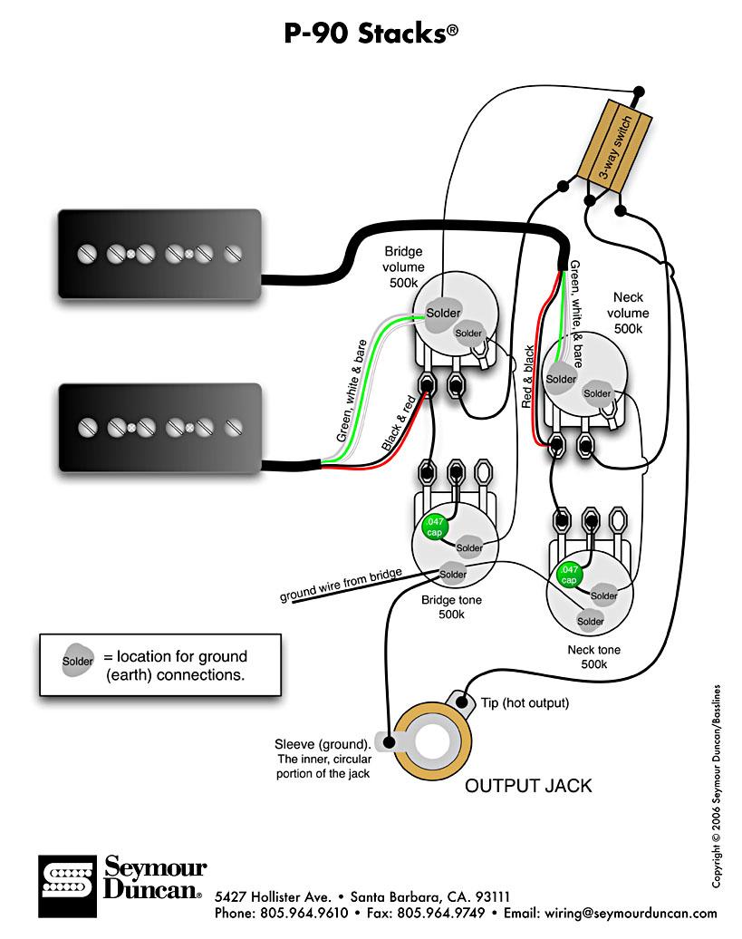 Seymour Duncan Wiring Diagrams Les Paul