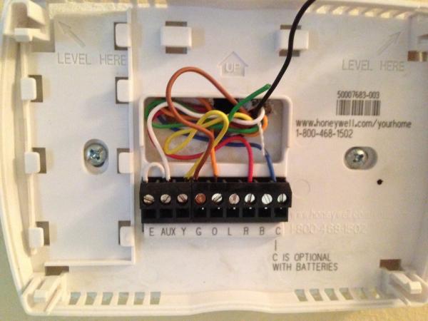 Honeywell Rth6350 Wiring Diagram