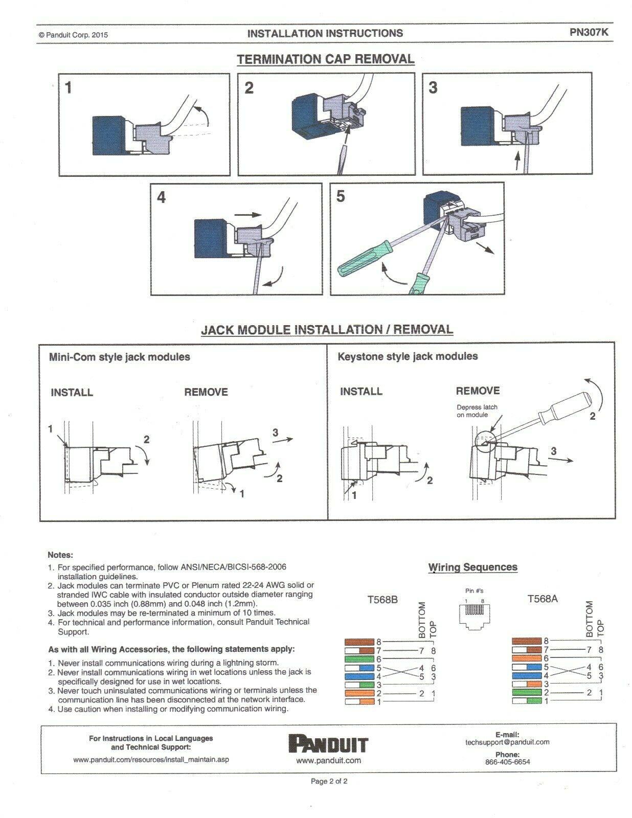 panduit rj11 wiring diagram cf 1712  panduit cat6 jack wiring diagram schematic wiring  panduit cat6 jack wiring diagram