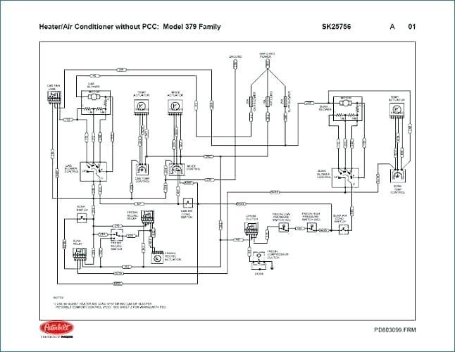 Ax 1821  Peterbilt 367 Fuse Box Wiring Diagram