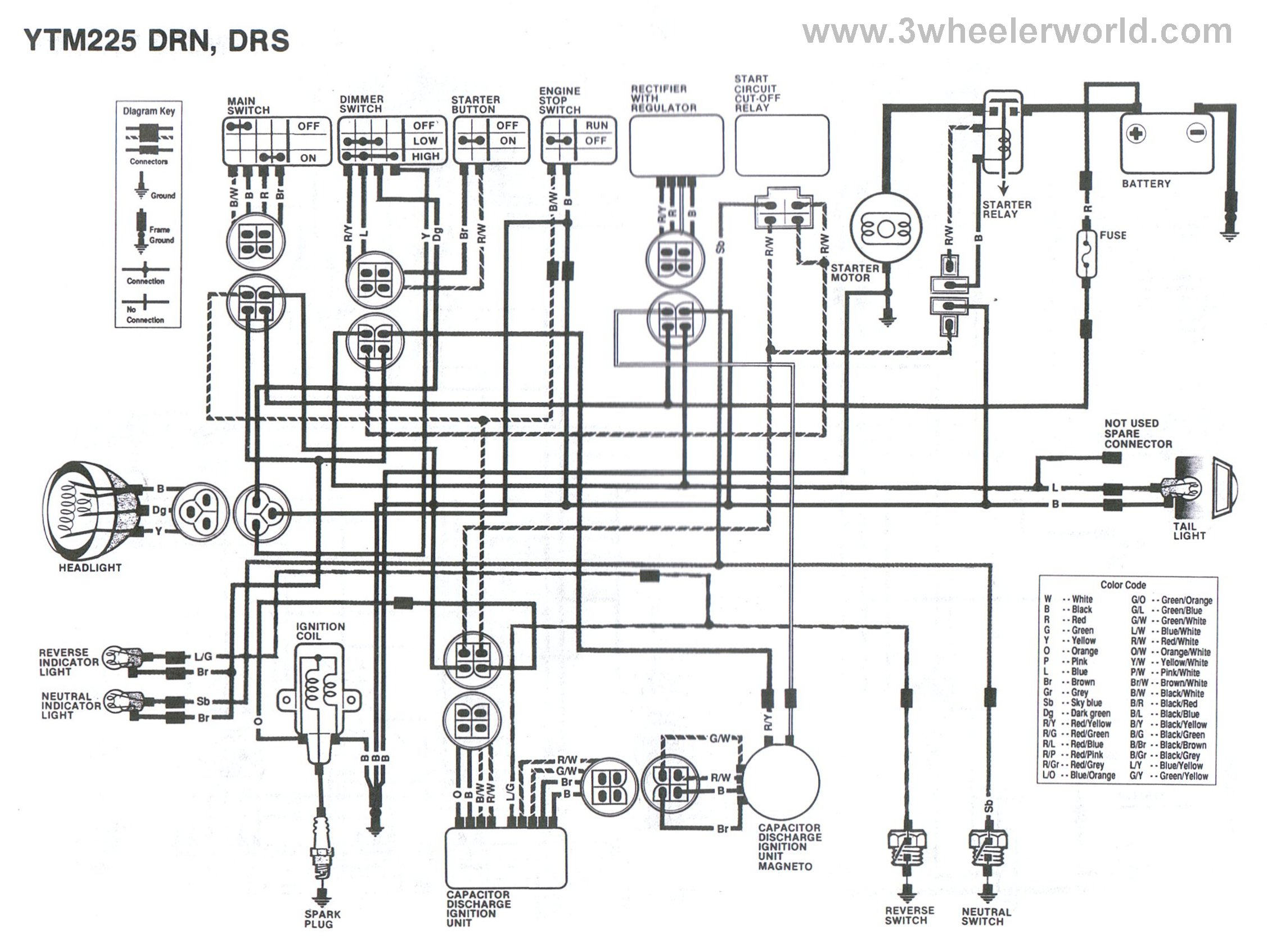 yamaha trx 850 wiring diagram we 2412  300 fourtrax wiring diagram yamaha warrior 350 carburetor  300 fourtrax wiring diagram yamaha
