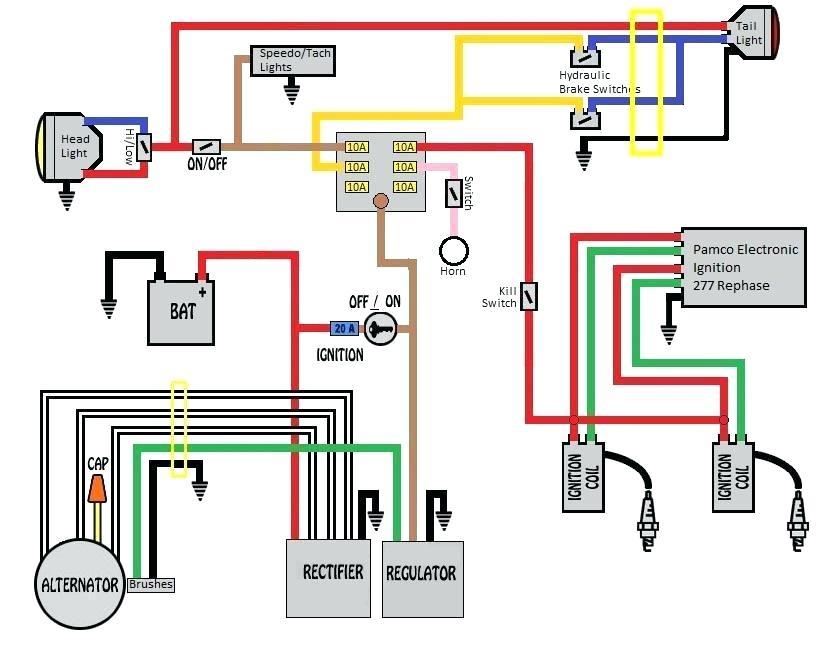 Yamaha Ybr 125 Wiring Diagram - Wiring Diagram