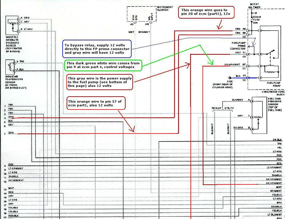 96 Dodge Dakota Radio Wiring Diagram Pics