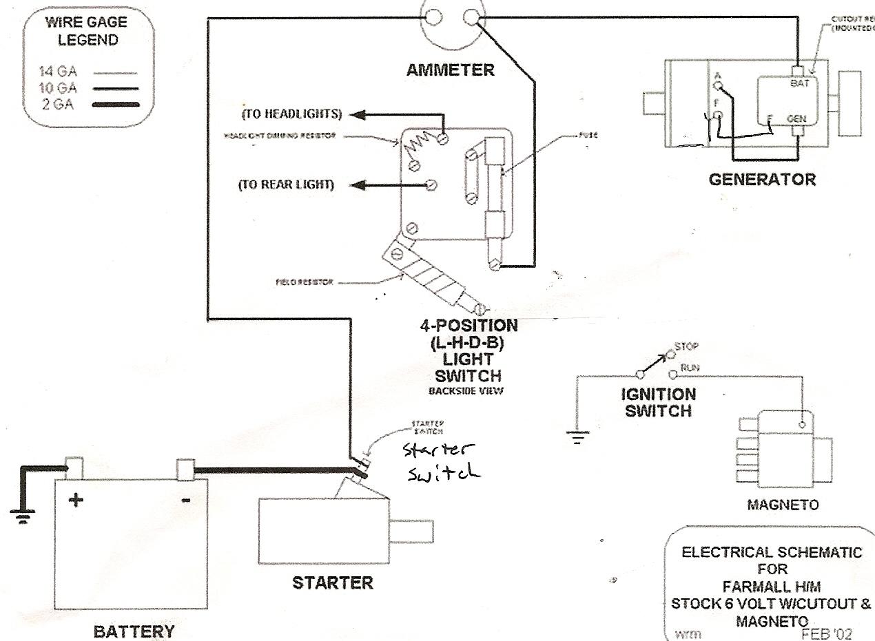 Farmall Cub Tractor 12 Volt Wiring Diagram
