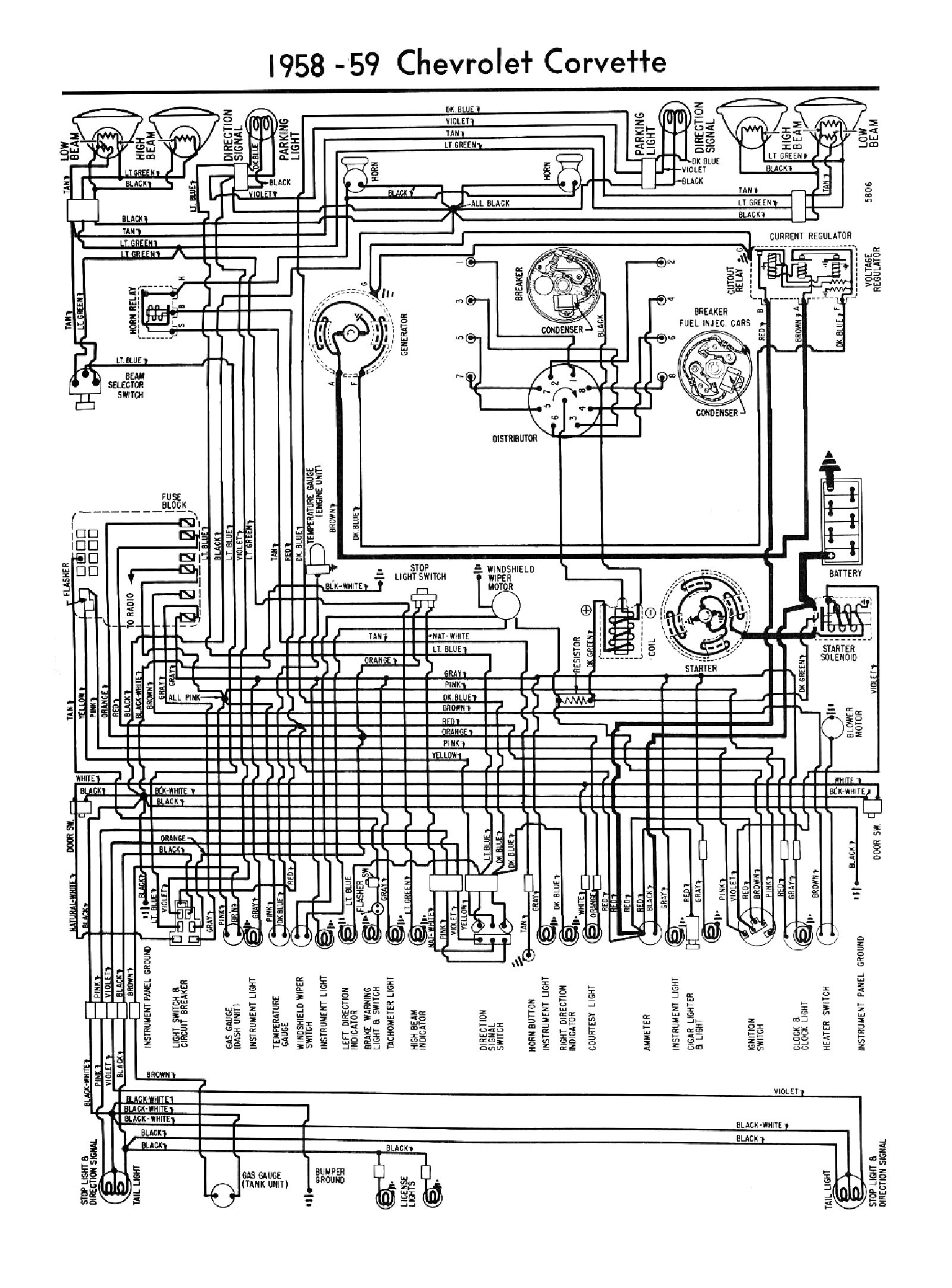 Excellent 1980 Diagram Electrical Wiring Davies Corvette Parts Accessories Wiring Cloud Intelaidewilluminateatxorg