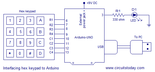 Admirable Digital Code Lock Using Arduino Circuit Diagram Program And Theory Wiring Cloud Rineaidewilluminateatxorg