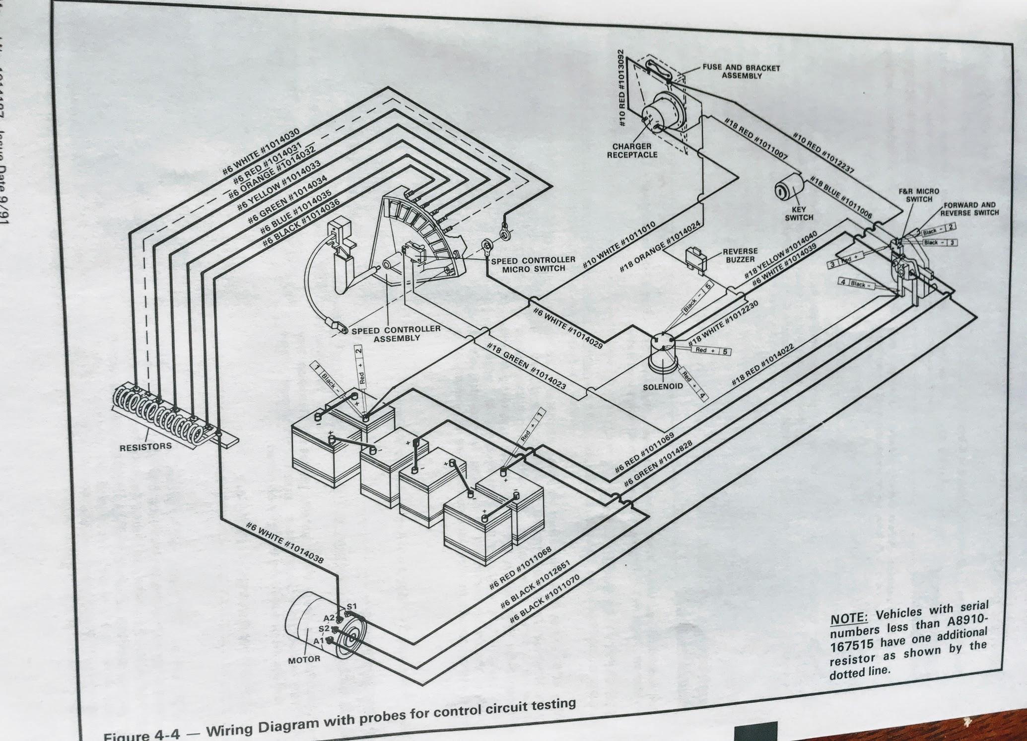 Yamaha G9 Gas Golf Cart Wiring Diagram