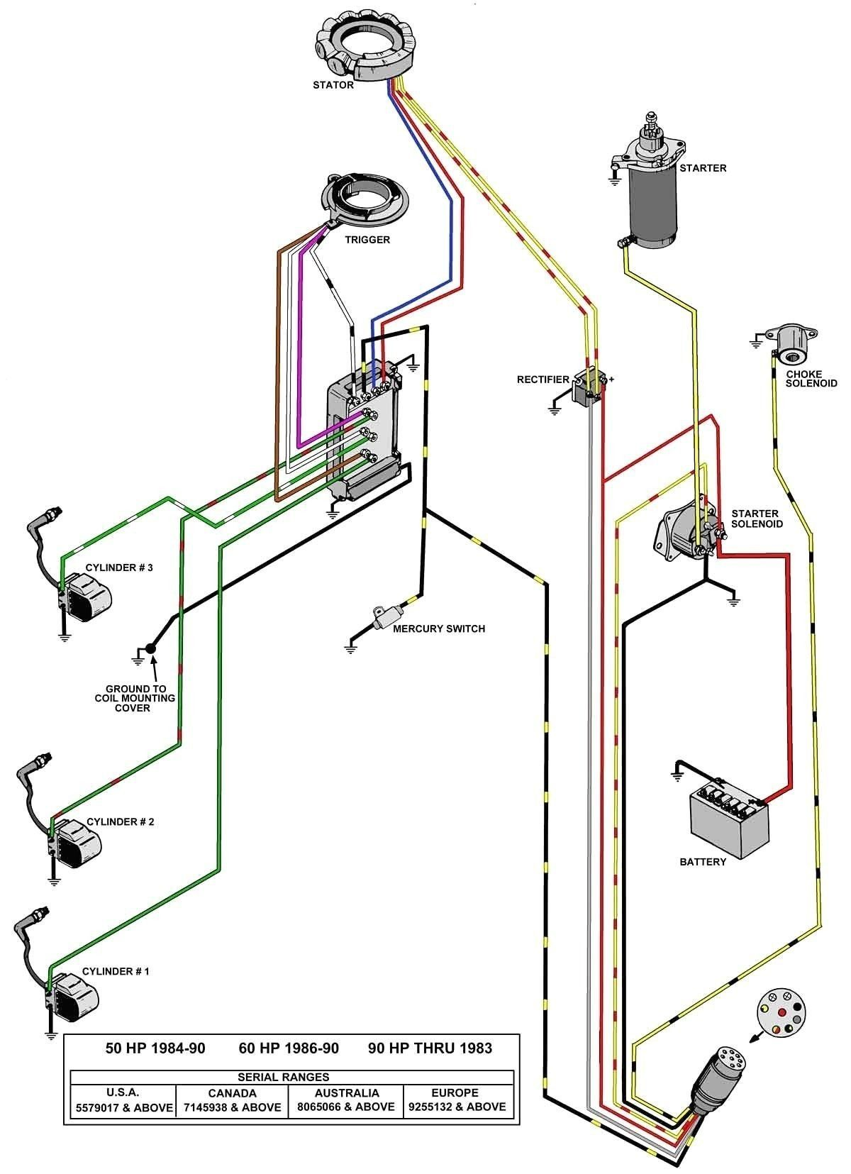With Battery Wiring Diagram Verado
