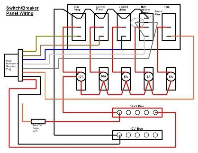 mt2013 switch panel wiring diagram 12v schematic wiring