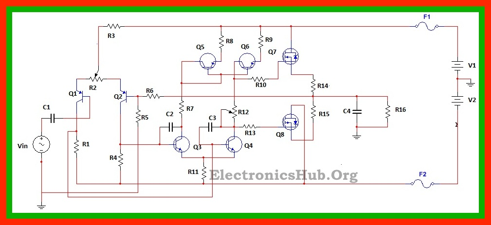 Remarkable 100Watt Mosfet Power Amplifier Circuit Working And Applications Wiring Cloud Overrenstrafr09Org