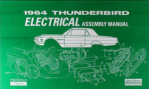 Tk 0498  1968 Thunderbird Wiring Diagram Schematic Wiring