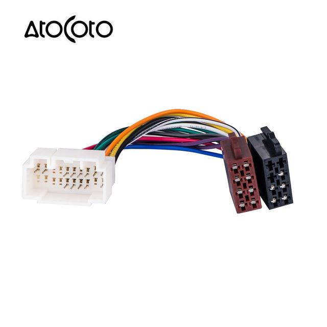 Surprising Car Stereo Radio Iso Standard Wiring Harness Connector Adapter Plug Wiring Cloud Rineaidewilluminateatxorg