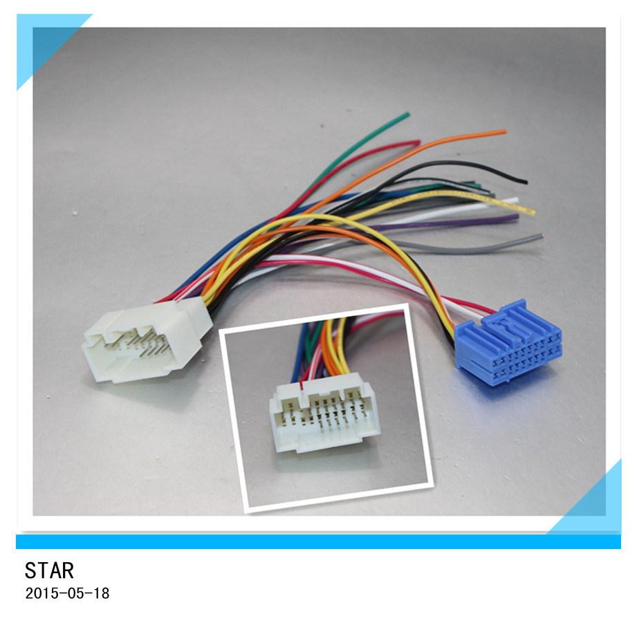 Cool China High Quality Replacemaent Auto Radio Stereo Iso Wire Harness Wiring Cloud Rineaidewilluminateatxorg