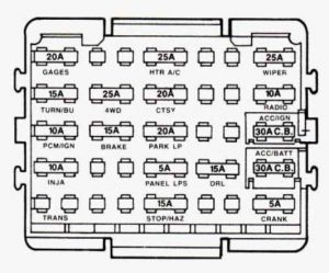 92 Silverado Fuse Box - Var Wiring Diagram clearance -  clearance.europe-carpooling.it | 1993 Chevy Lumina Fuse Box Diagram |  | Carpooling