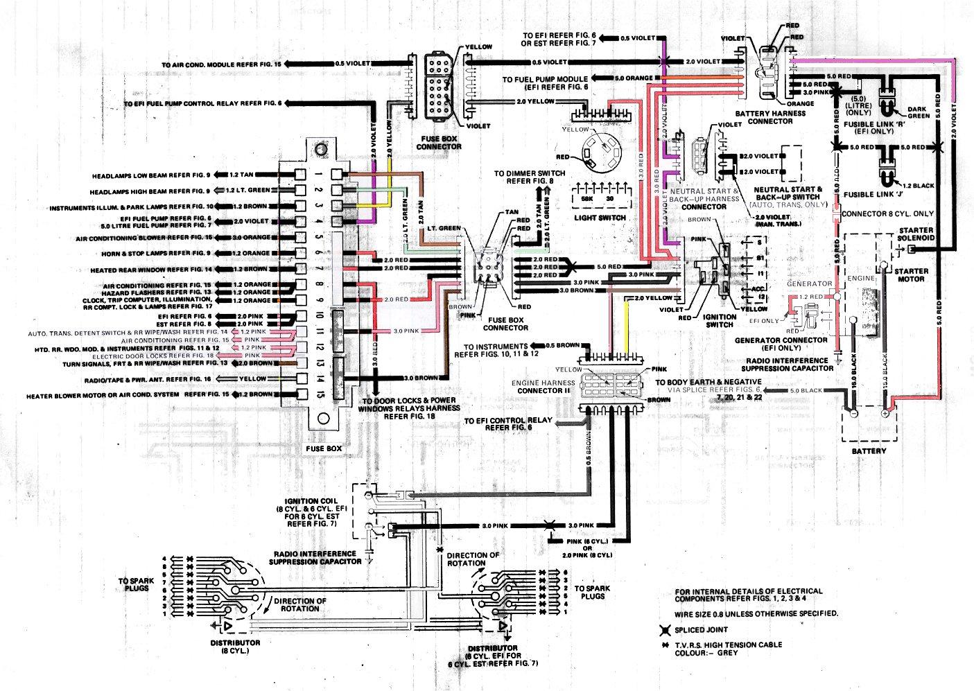 Wk 7420 Holden Vt Modore Radio Wiring Vr Wiring Diagram