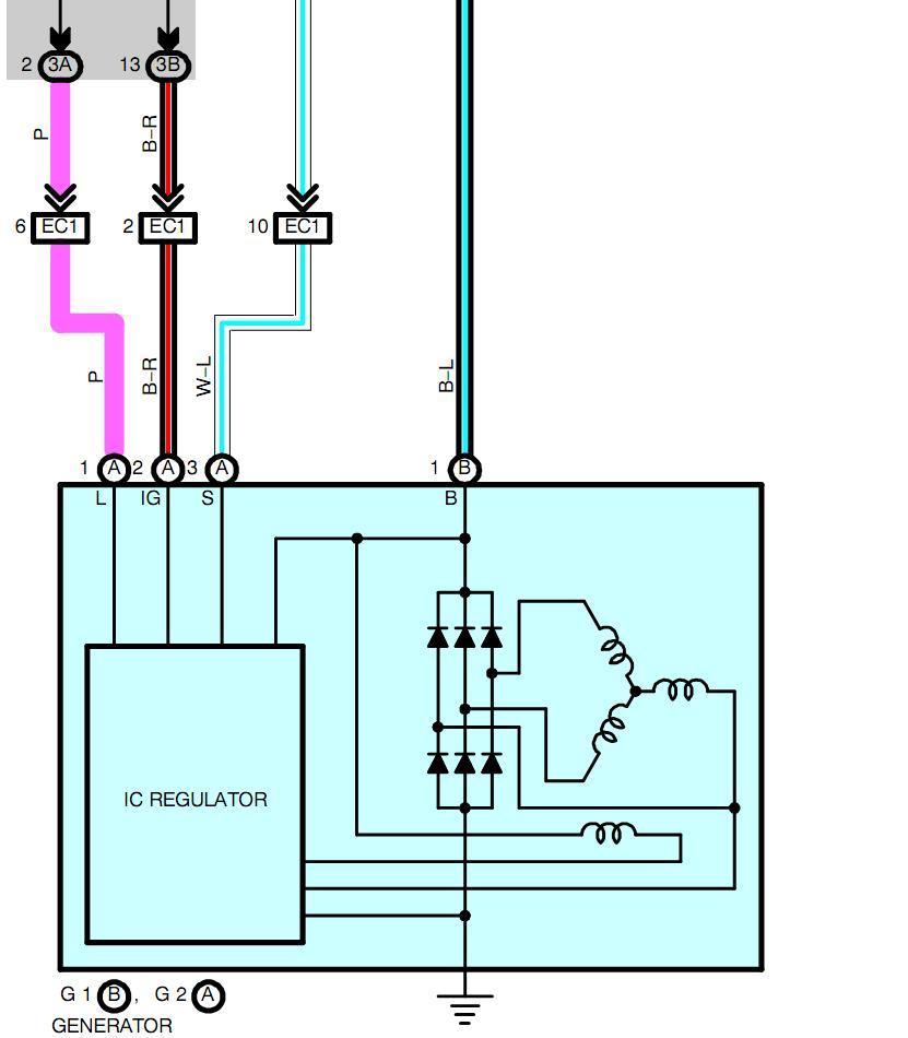 Fabulous 2002 Lexus Alternator Wiring Diagram Data Schema Wiring Cloud Onicaalyptbenolwigegmohammedshrineorg