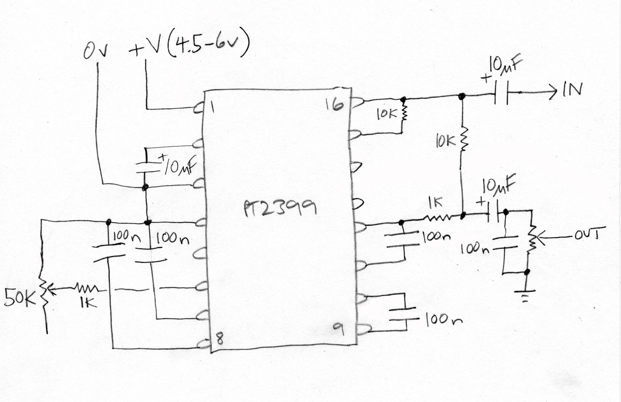 EH_6651] Pt2399 Easy To Build Echo Delay Circuit With A Pt2399 Digital  Delay Ic Download DiagramTeria Benkeme Mohammedshrine Librar Wiring 101