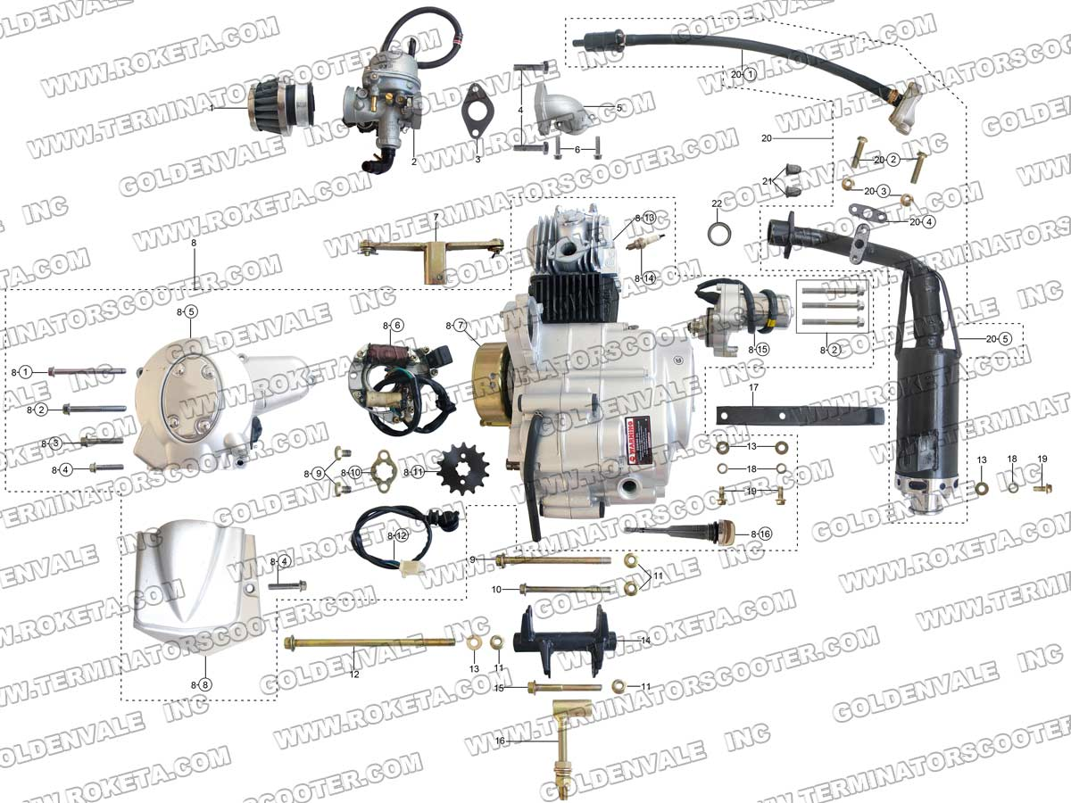 jc 120 evo ignition wiring diagram ez 2175  roketa 250cc atv wiring diagram download diagram  roketa 250cc atv wiring diagram