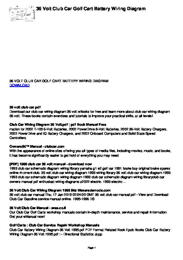 1993 club car battery diagram bt 3948  battery wiring diagram for club car golf cart  wiring diagram for club car golf cart