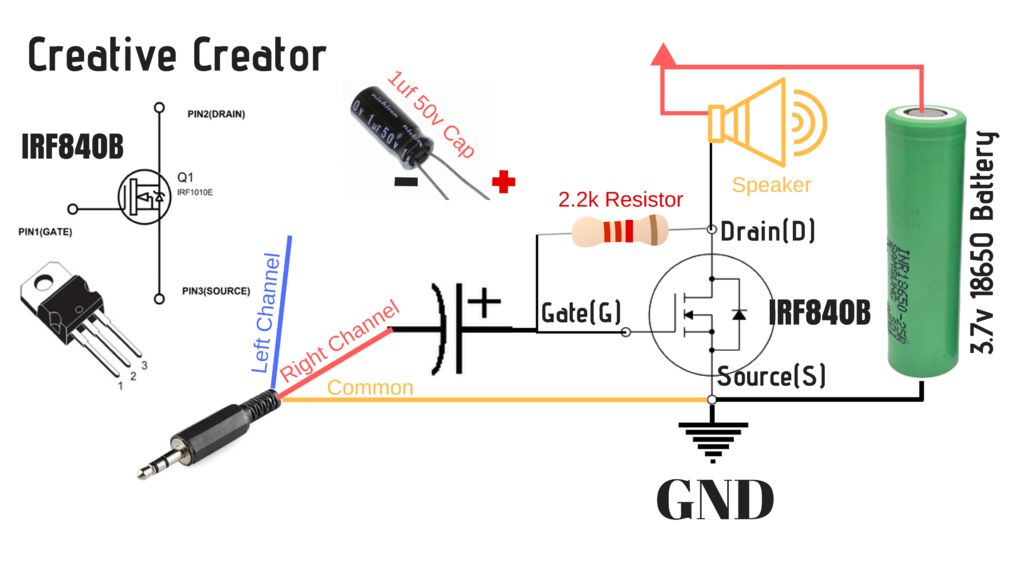Na 5786  240w Mosfet Amplifier Schematic Wiring
