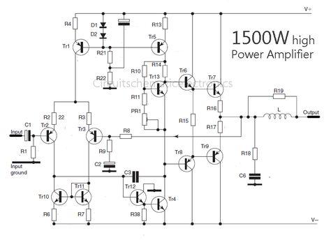 Phenomenal 2800W High Power Amplifier Circuit Electronic Circuit Basic Wiring Cloud Xempagosophoxytasticioscodnessplanboapumohammedshrineorg