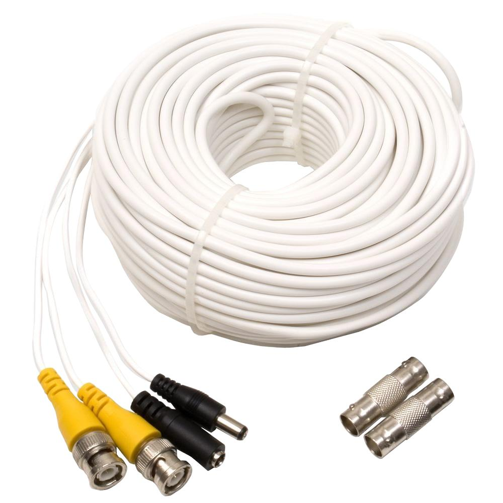 Enjoyable Q See 100 Ft Video And Power Bnc Male Cable With 2 Female Connector Wiring Cloud Genionhyedimohammedshrineorg