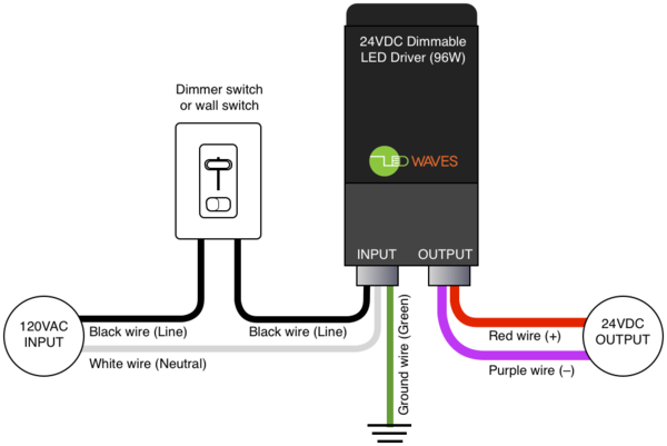 Step Dimming Led Driver Wiring Diagram