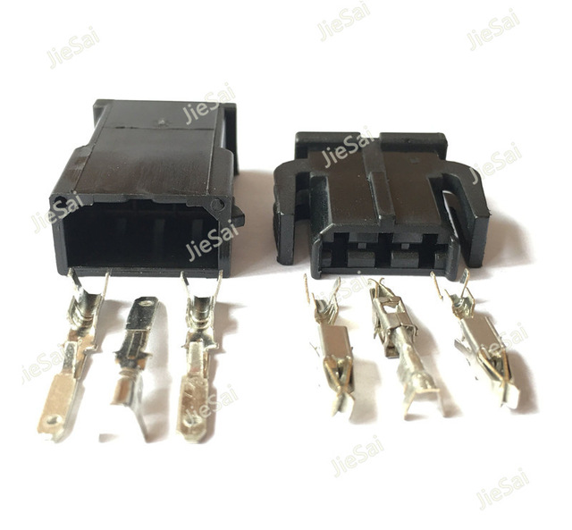 Awesome 3 Pin Female Male Auto Wire Harness Connector For Vw 893 971 993 Wiring Cloud Hemtegremohammedshrineorg