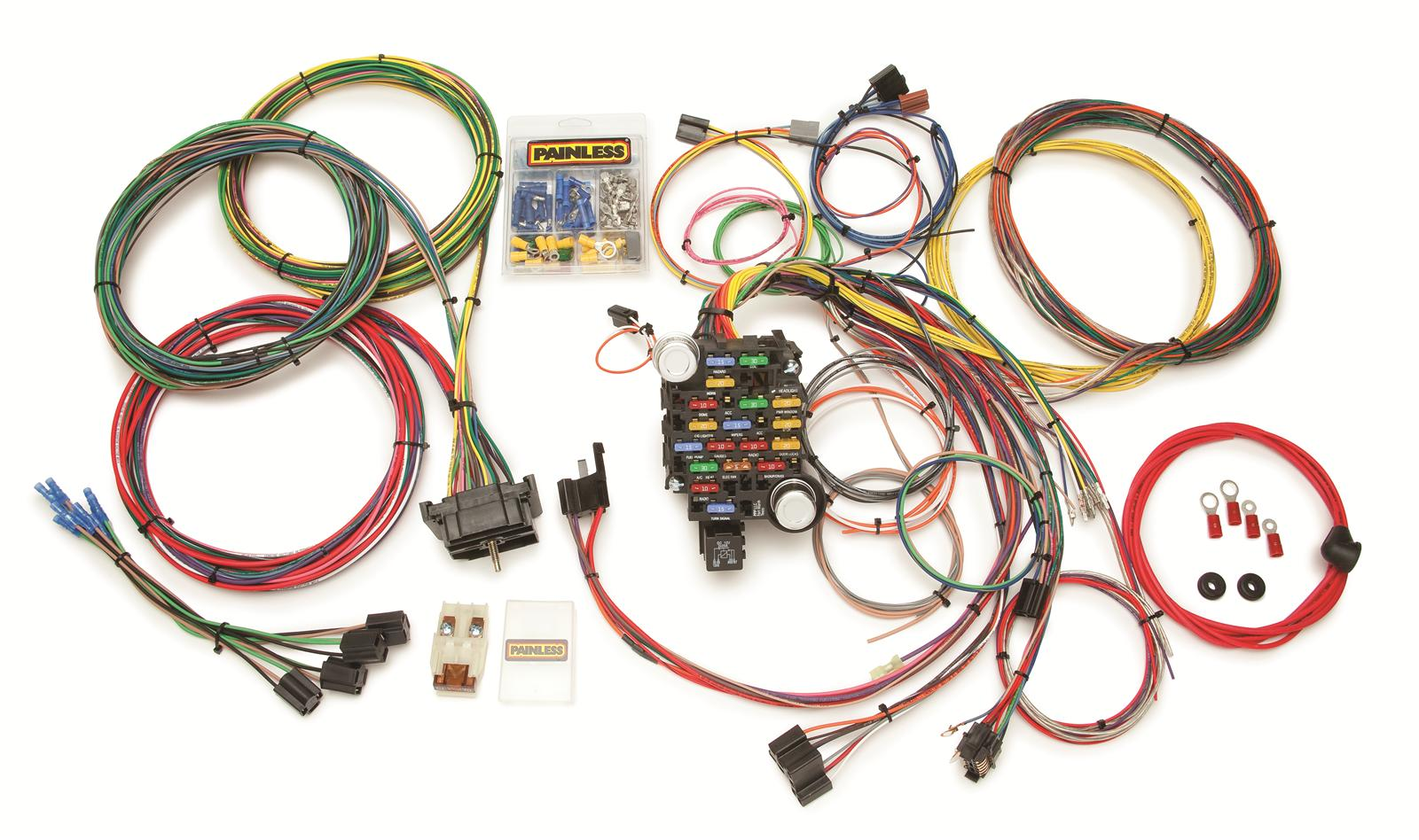 Pleasant 55 Chevy Wire Harness Basic Electronics Wiring Diagram Wiring Cloud Timewinrebemohammedshrineorg