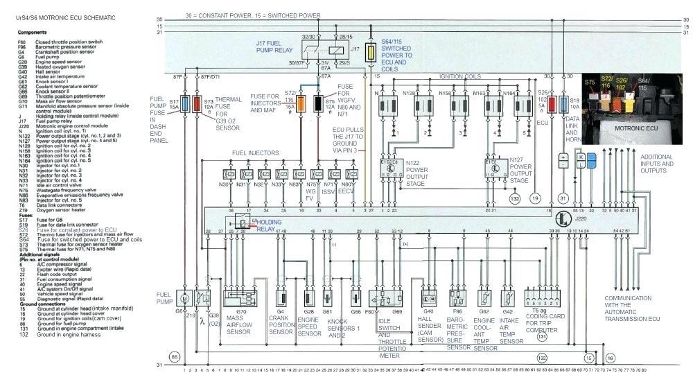 wiring diagram audi a6 2007