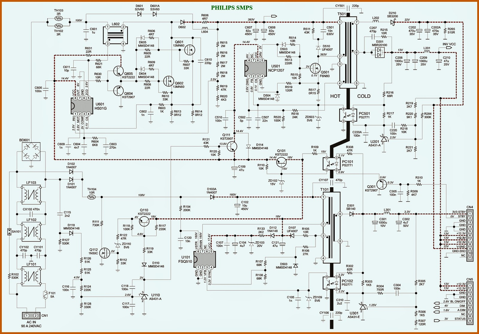 tv circuit board diagram repair hk 9441  switch mode power supply circuit diagram also samsung  power supply circuit diagram also