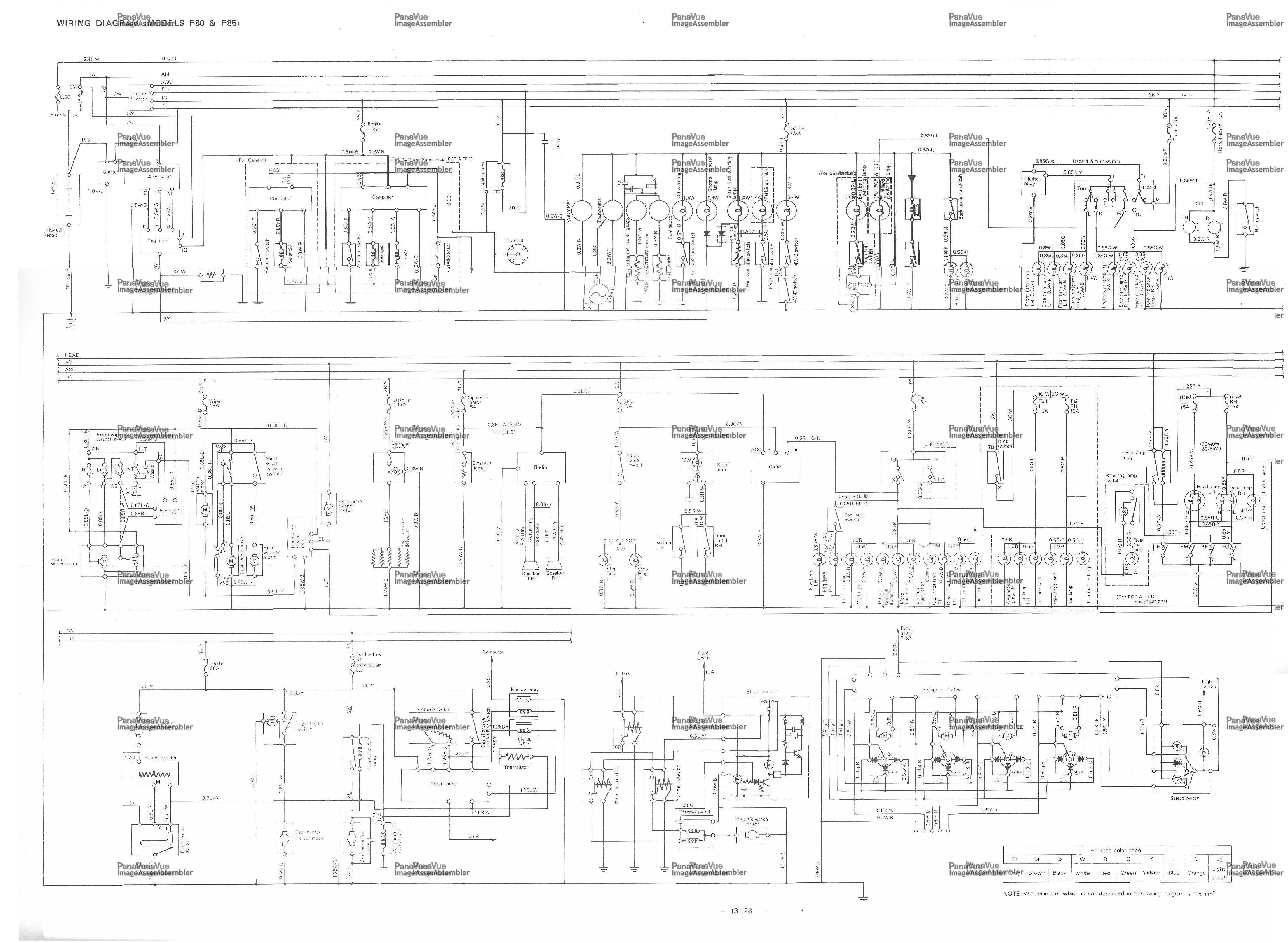 Daihatsu Wiring Diagrams - 95 Mazda B4000 4 0l Engine Diagram - wiring .losdol2.jeanjaures37.frWiring Diagram