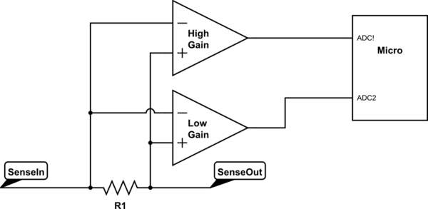 ne 3542  ac current sensor circuit wiring diagram