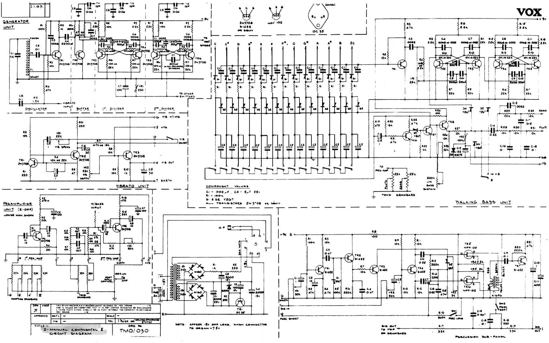 Surprising Vox Vintage Circuit Diagrams Wiring Cloud Ymoonsalvmohammedshrineorg