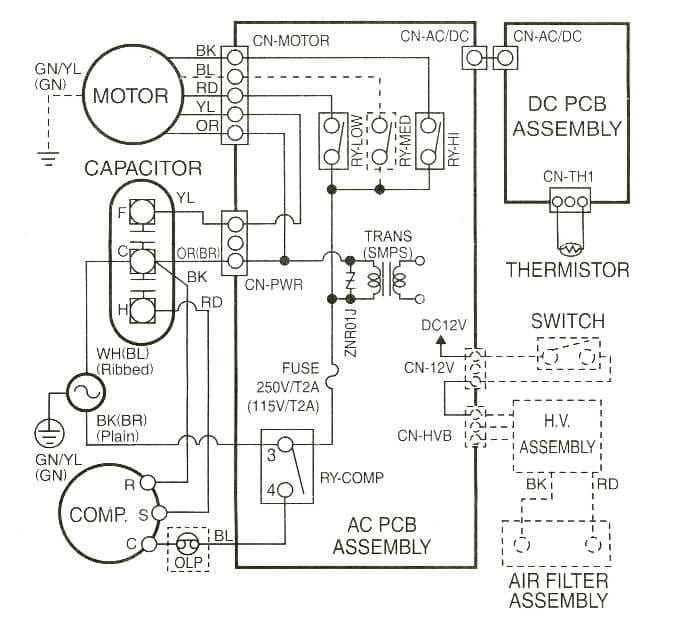 sl8818 trane air handler wiring diagrams free diagram
