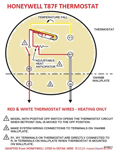 Magnificent How Wire A Honeywell Room Thermostat Honeywell Thermostat Wiring Wiring Cloud Vieworaidewilluminateatxorg