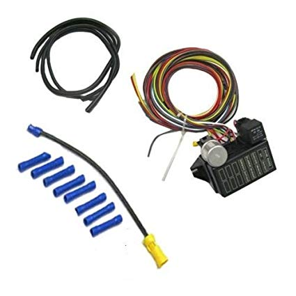 Peachy Amazon Com New 8 Circuit Wiring Harness Kit For Street Rat Hot Rod Wiring Cloud Hisonepsysticxongrecoveryedborg
