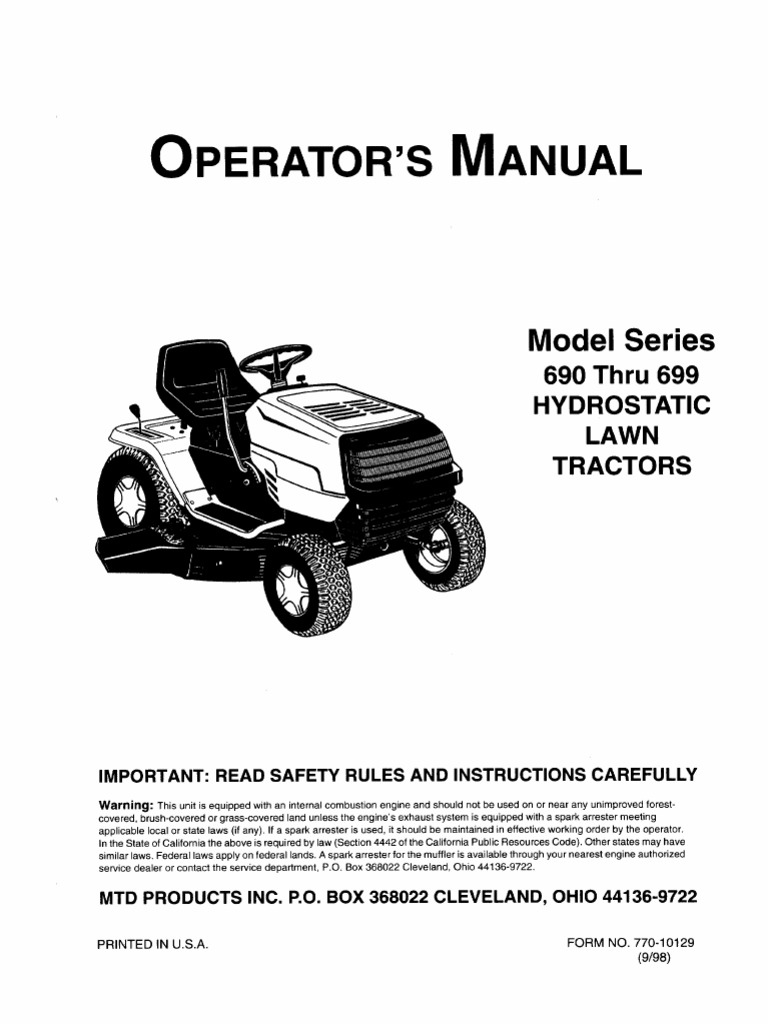 Mtd Ranch King Lawn Tractor Wiring Diagram - Wiring Diagram Direct  smash-demand - smash-demand.siciliabeb.itsmash-demand.siciliabeb.it
