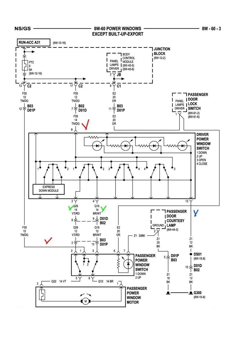 2000 Grand Caravan Wiring Diagram