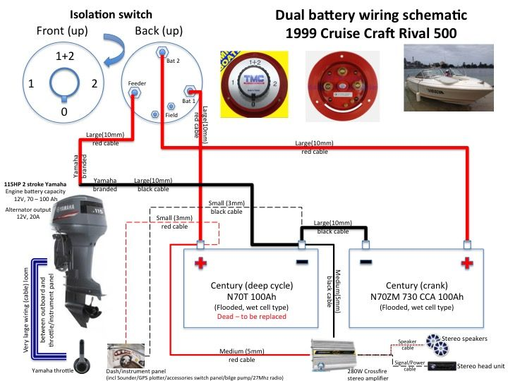 Ee 0772 Dual Battery Dual Engine Schematic Download Diagram