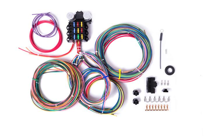 Excellent 9 3 Circuit Wiring Harness Millworks Hot Rod Wiring Cloud Hemtegremohammedshrineorg