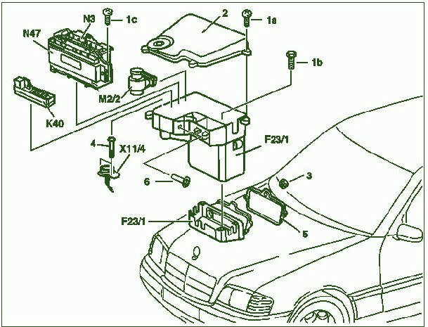 Awe Inspiring 1997 Mercedes C280 Engine Diagram Online Wiring Diagram Wiring Cloud Filiciilluminateatxorg