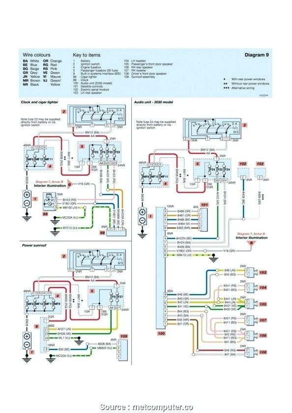yh8067 peugeot 307 wiring problems free diagram