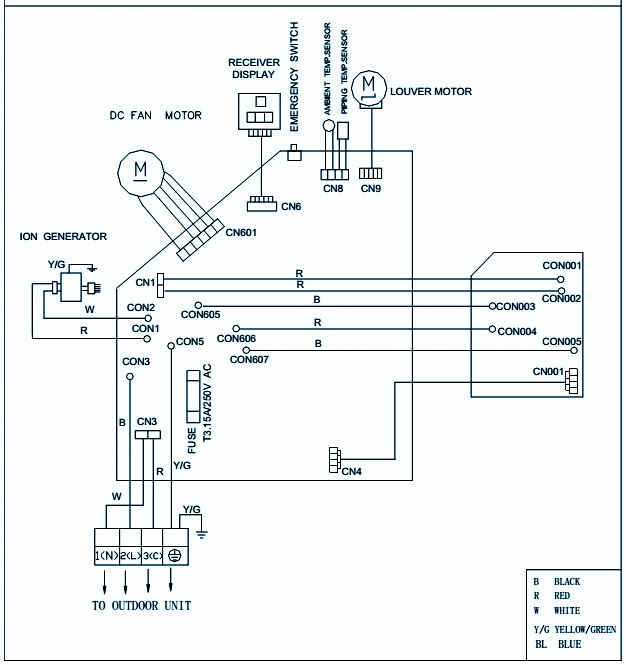 Schematic Diagram Inverter Air Conditioner