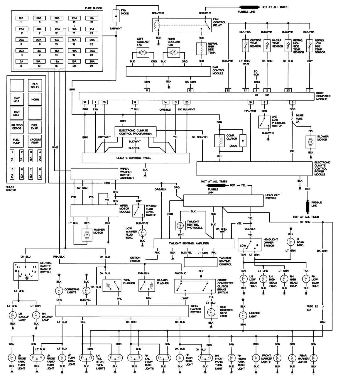 fuse diagram 2002 dts cadillac sts fan wiring pro wiring diagram  cadillac sts fan wiring pro wiring