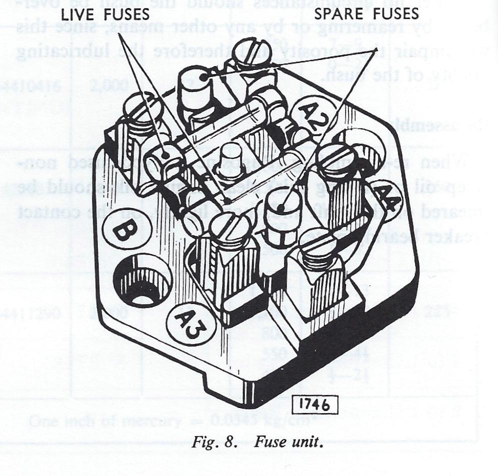 Ugi 156 Jaguar Mk2 Fuse Box Wave