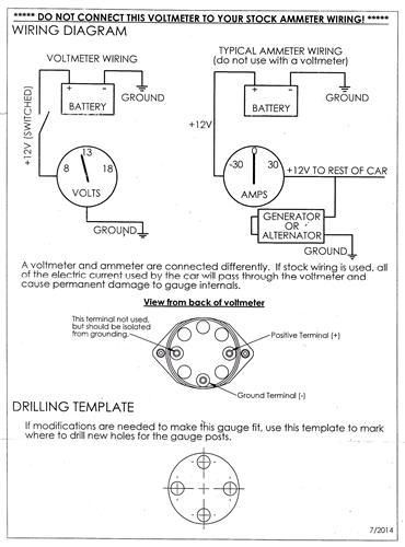 Ed 0973 Wiring Diagram For Volt Gauge Wiring Diagram