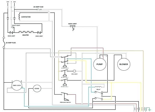 FT_6554] Hot Tub Wiring Diagram Download 220V Wiring Diagram ElectricalPonge Benkeme Mohammedshrine Librar Wiring 101