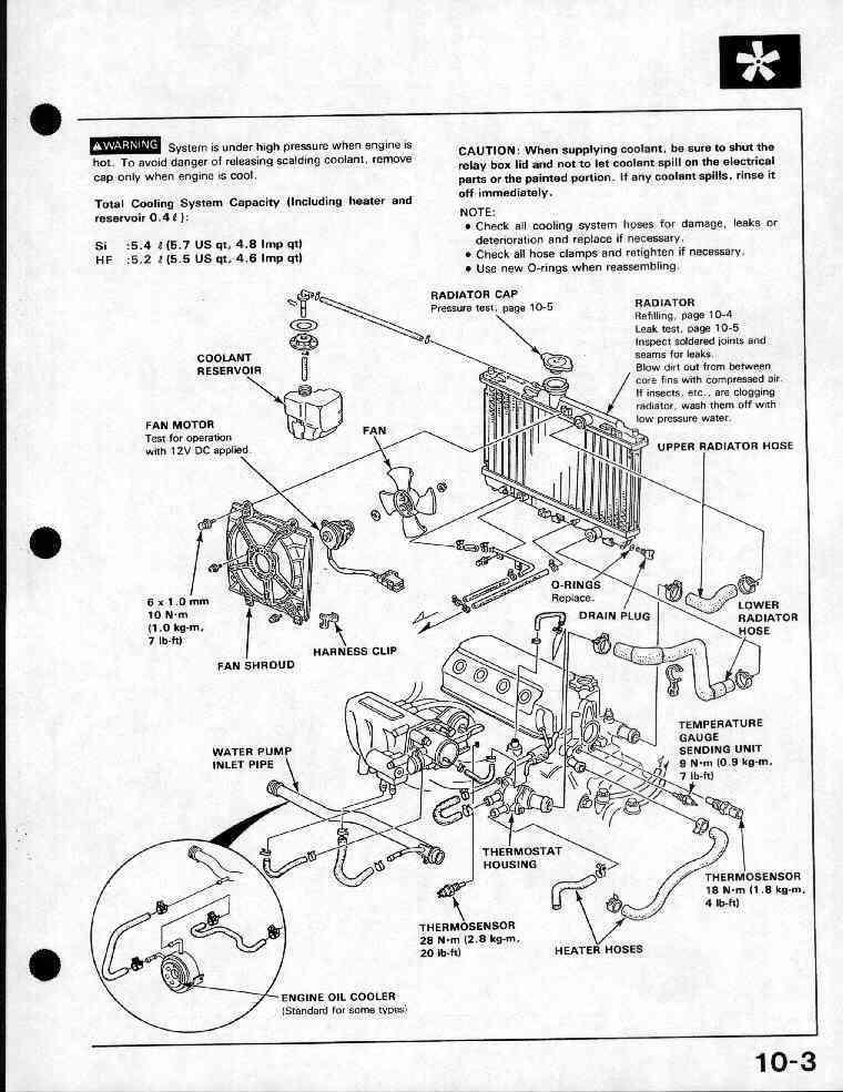 d16a6 engine wiring harness diagram  1997 honda civic ex