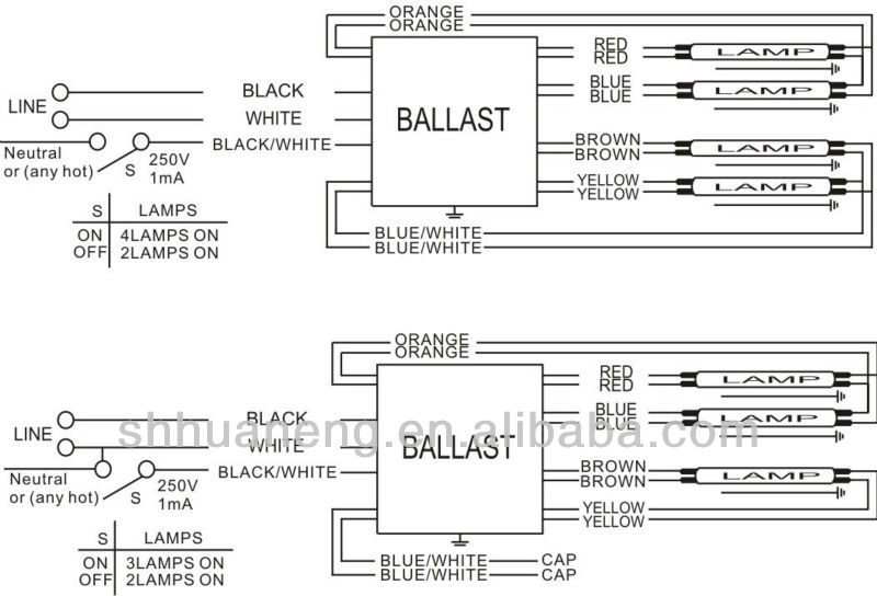 vz2869 in addition t5 4 l ballast wiring on t5 fluorescent